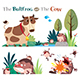 The Bullfrog and the Cow - GraphicRiver Item for Sale