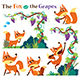 The Fox and the Grapes - GraphicRiver Item for Sale