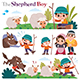 The Shepherd Boy - GraphicRiver Item for Sale