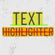 Text Highlighter Presets
