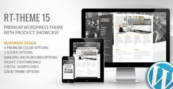 RT-Theme 15 Premium WordPress Theme, Gobase64