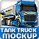 Tank Truck Mock-up - GraphicRiver Item for Sale