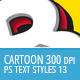 Cartoon and Comic Book Styles - Part 13 - GraphicRiver Item for Sale