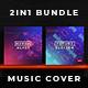 2in1 Music Album Cover - Bundle 20 - GraphicRiver Item for Sale