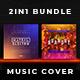 2in1 Music Album Cover - Bundle 21 - GraphicRiver Item for Sale