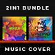 2in1 Music Album Cover - Bundle 22 - GraphicRiver Item for Sale