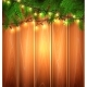 Vector Christmas Light Realistic Garland Spruce - GraphicRiver Item for Sale