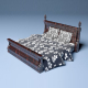 Bed Athens - 3DOcean Item for Sale
