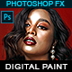 Digital Painting - Photoshop Action - GraphicRiver Item for Sale