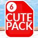 Children's Cutesy Pack 6