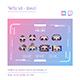 Skull Twitch Sub Badges Chibi Sub Badges Cute Sub Badges Kawaii Sub Badges Funny Sub Badges Discord - GraphicRiver Item for Sale