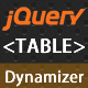 jQuery Table Dynamizer - CodeCanyon Item for Sale