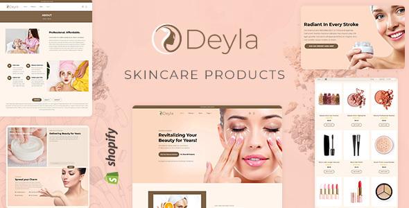 Deyla - Spa, Cosmetic eCommerce Shopify Theme