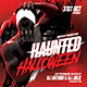 Haunted Halloween Party Flyer - GraphicRiver Item for Sale