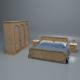 Bedroom Set - 3DOcean Item for Sale