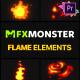 Flame Elements | Premiere Pro MOGRT