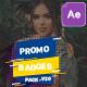 Badges Sale Promo V20 - VideoHive Item for Sale