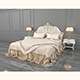 European Style Bed 11 - 3DOcean Item for Sale