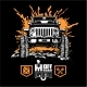 Jeep Wrangler - Suv Car on Black - Elements for - GraphicRiver Item for Sale