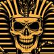Pharaoh Skull Vector Illustration - GraphicRiver Item for Sale