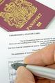 A Passenger Locator Card - PhotoDune Item for Sale
