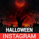 Halloween Instagram Story and Banner Templates - GraphicRiver Item for Sale