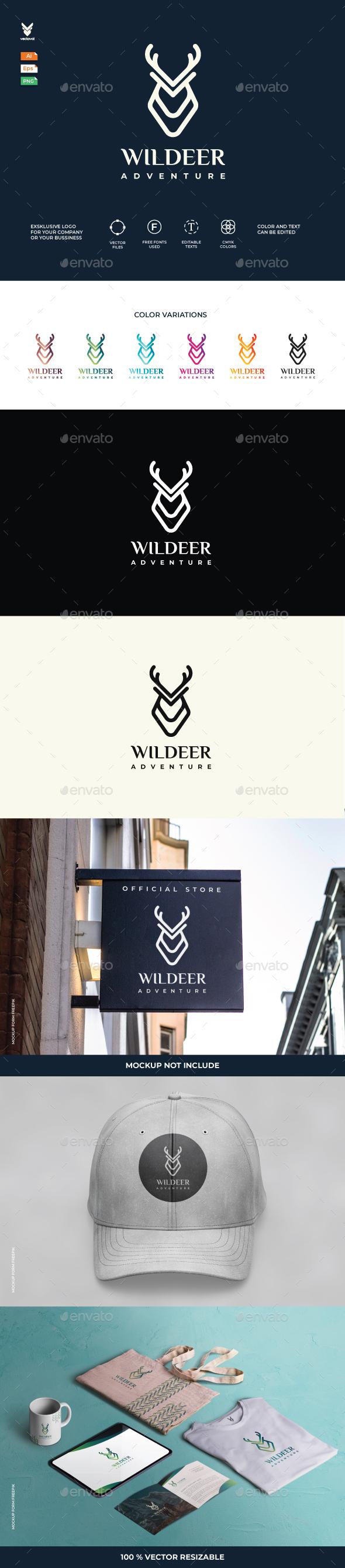 Wildeer Adventure Logo