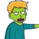 Little Boy Zombie Halloween Illustration - GraphicRiver Item for Sale