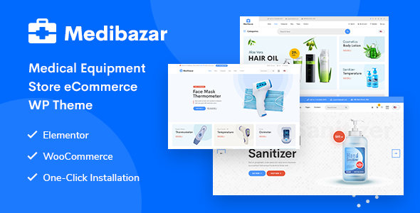 Medibazar – Medical WooCommerce Theme
