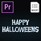 Halloween for Premiere Pro