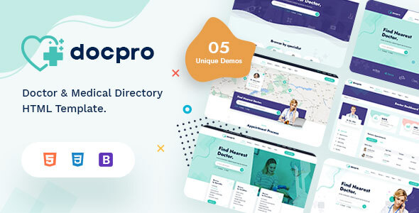 Review: Docpro - Doctors directory and Book Online template free download Review: Docpro - Doctors directory and Book Online template nulled Review: Docpro - Doctors directory and Book Online template