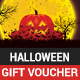 Halloween gift voucher - GraphicRiver Item for Sale