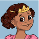 Little Girl wearing Princess Costume - GraphicRiver Item for Sale