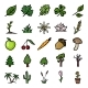 Vector Set of Doodle Plants Icons - GraphicRiver Item for Sale