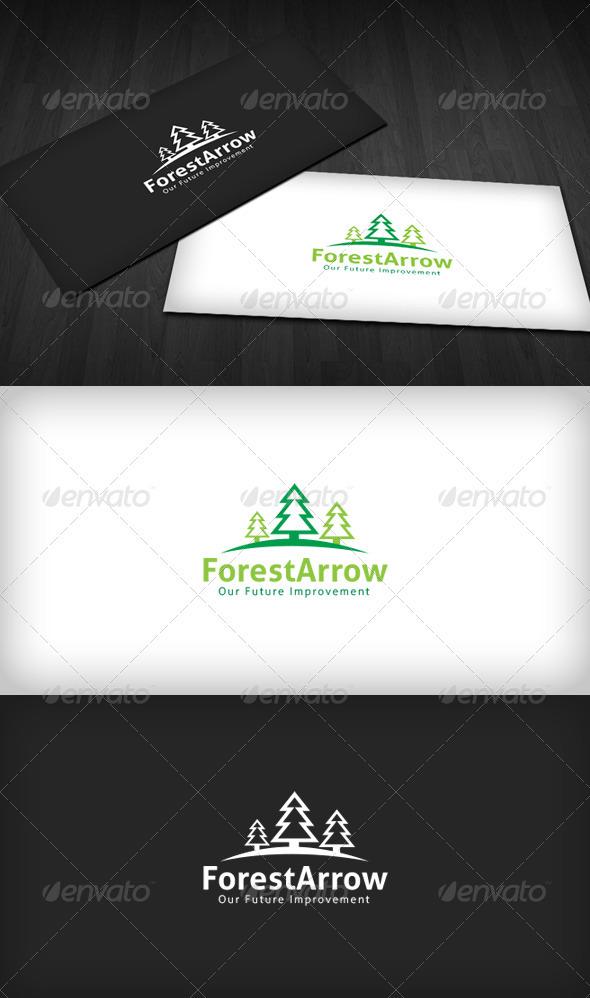 Forest Arrow Logo