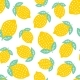 Seamless Pattern with Cute Lemon - GraphicRiver Item for Sale