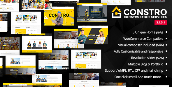 Review: Constro - Construction Business WordPress Theme free download Review: Constro - Construction Business WordPress Theme nulled Review: Constro - Construction Business WordPress Theme