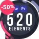 Shape Elements Library | AtomX - VideoHive Item for Sale