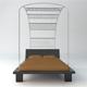 Designer bed - 3DOcean Item for Sale