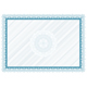 Blank diploma with bakground and rosette - GraphicRiver Item for Sale
