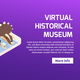 Modern Museum Isometric Banner - GraphicRiver Item for Sale
