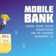 Mobile Bank Background - GraphicRiver Item for Sale