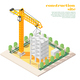 Architects Construction Engineers Composition - GraphicRiver Item for Sale