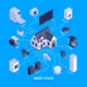 Isometric Smart House Composition - GraphicRiver Item for Sale