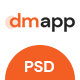 DMApp - APP Showcasing Template - ThemeForest Item for Sale