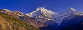 Annapurna South and Hiuchuli, Annapurna Conservation Area, Himalaya, Nepal - PhotoDune Item for Sale