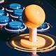 Classic Retro Fighting Arcade Game Theme