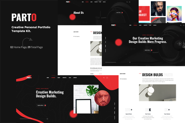 Download Parto – Creative Personal Portfolio Elementor Template Kit Nulled