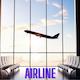Airline Atmospheric Intro Logo Ident