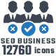 12760 Seo Business Marketing Icons - GraphicRiver Item for Sale
